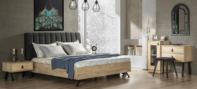Metalica Yatak Odası